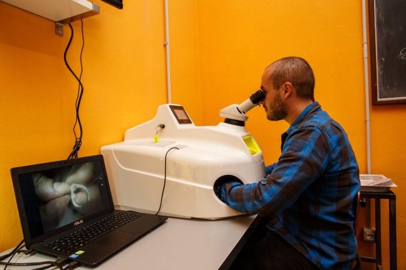 Corso sull'uso della Saldatrice Laser